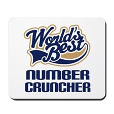 Number Cruncher Gift Mousepad