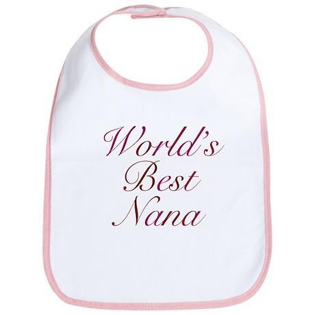 World's Best Nana Bib