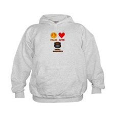 Peace Love Chili Cookoff Hoodie