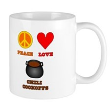 Peace Love Chili Cookoff Mug