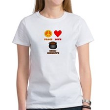 Peace Love Chili Cookoff Tee