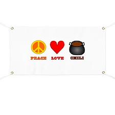 Peace Love Chili Banner