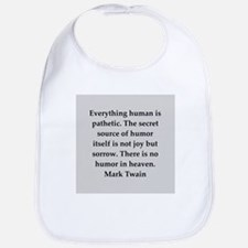 Mark Twain quote Bib
