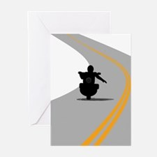Biker Wave Greeting Cards (Pk of 20)