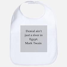 Mark Twain quote Bib