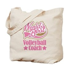 Volleyball Coach Gift Tote Bag