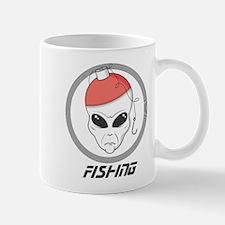 Alien Fishing Mug