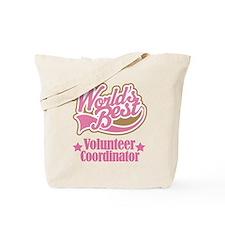 Volunteer Coordinator Gift Tote Bag