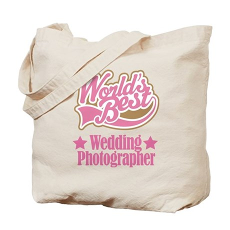 Wedding Photographer Gift Tote Bag