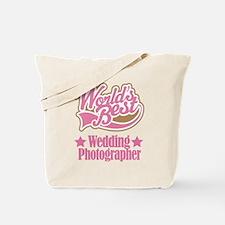Wedding Photographer Gift Tote Bag
