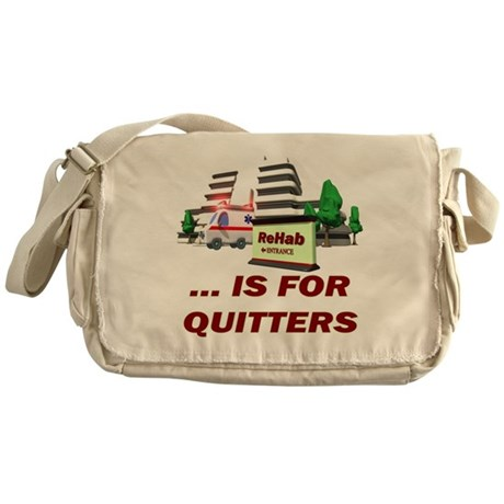 Rehab For Quitters Messenger Bag