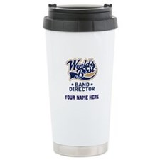 Personalized Band Director Travel Mug