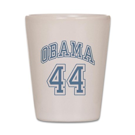 Obama 44th President bl Shot Glass