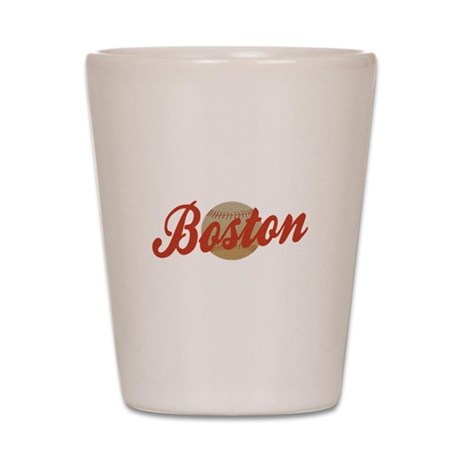 Boston Baseball design Shot Glass