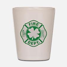 Irish Firefighter Shot Glass