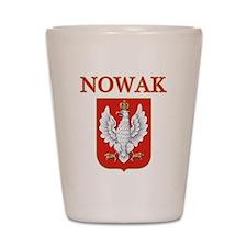 Nowak Polish Shield Shot Glass