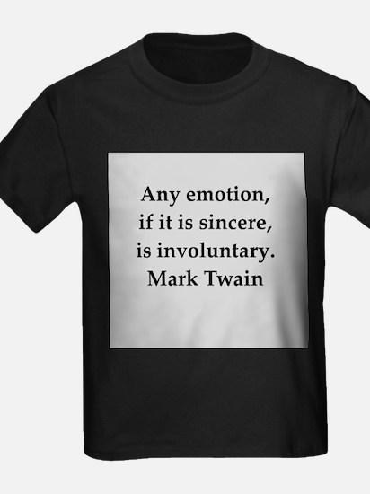 Mark Twain quote T