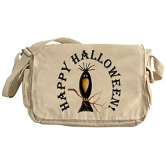 Halloween Black Crow Messenger Bag