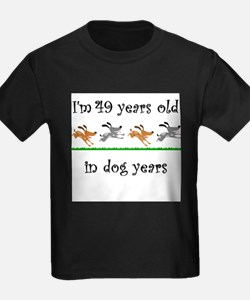 7 dog birthday 1 T-Shirt