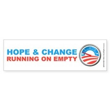 Running On Empty, Bumper Sticker