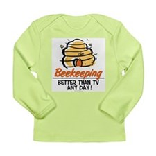 Beekeeping Long Sleeve Infant T-Shirt