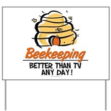 Beekeeping Yard Sign