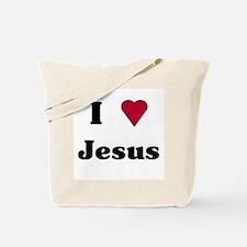 """""""I Love Jesus"""" Tote Bag"""