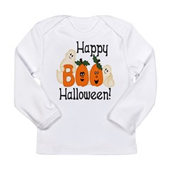Ghostly Boo! Long Sleeve Infant T-Shirt