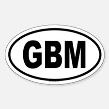 GBM Oval Decal