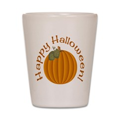 Happy Halloween! Shot Glass