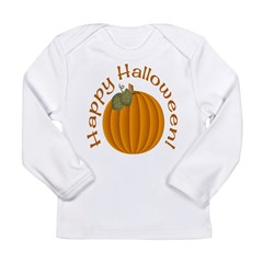 Happy Halloween! Long Sleeve Infant T-Shirt