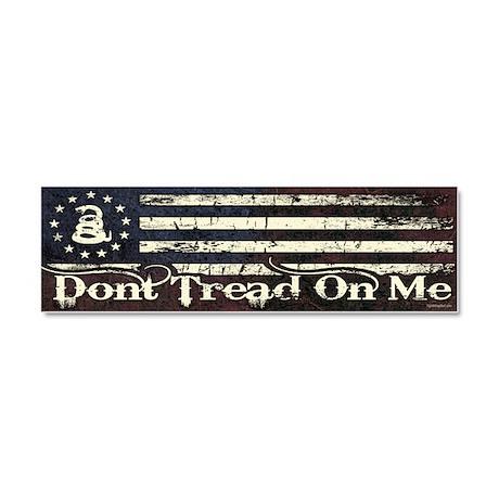DTOM - Snake Flag Car Magnet 10 x 3