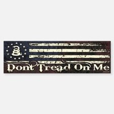 DTOM - Snake Flag Bumper Bumper Sticker