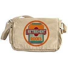 Retirement Rocks Messenger Bag