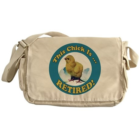 Retired Chick Messenger Bag