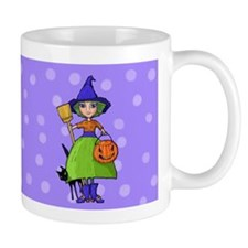 Little Witch purple Mug