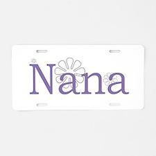 Nana Aluminum License Plate