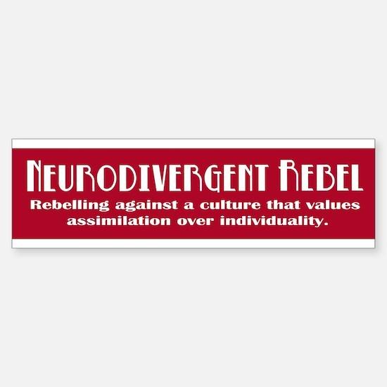 Neurorebel Red Bumper Bumper Bumper Stickers