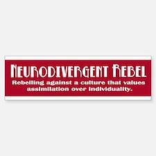 Neurorebel Red Bumper Bumper Car Car Sticker