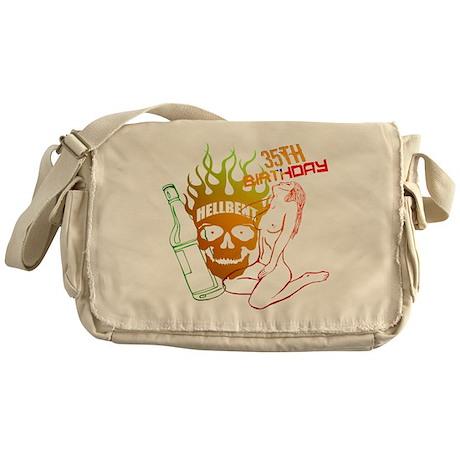 35th Birthday Messenger Bag