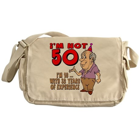 50th Birthday Messenger Bag