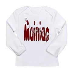 Christmas Mainiac Long Sleeve Infant T-Shirt