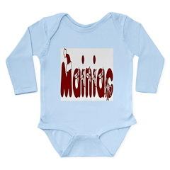 Christmas Mainiac Long Sleeve Infant Bodysuit