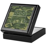Camo republican Keepsake Boxes