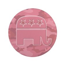 "Republican Gift Items 3.5"" Button"