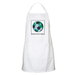 Soccer is my World BBQ Apron