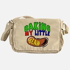 Baking My Bean Messenger Bag