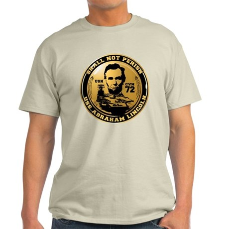 USS Abraham Lincoln Light T-Shirt