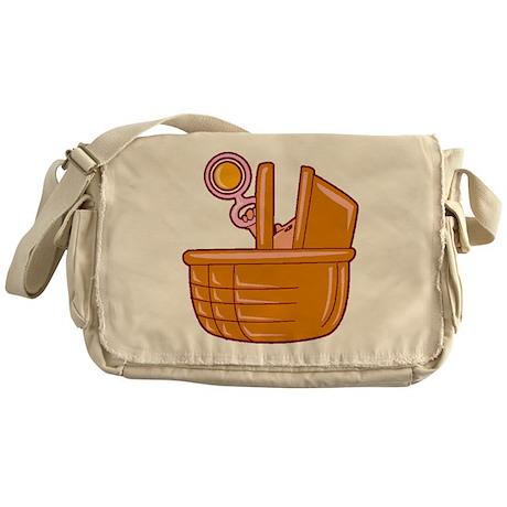 Basket of Baby Messenger Bag