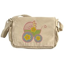 Baby Carriage Messenger Bag